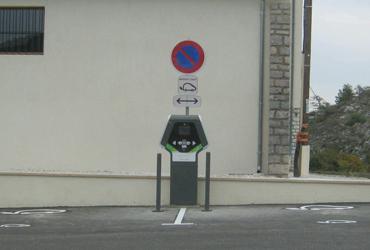 Nouvelle borne de recharge à Comps-sur-Artuby