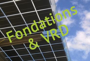 Travaux de l'ombrière photovoltaïque sur le parking du SymielecVar #2