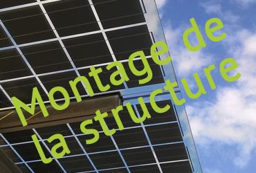 Travaux de l'ombrière photovoltaïque sur le parking du SymielecVar #3
