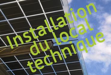 Travaux de l'ombrière photovoltaïque sur le parking du SymielecVar #5