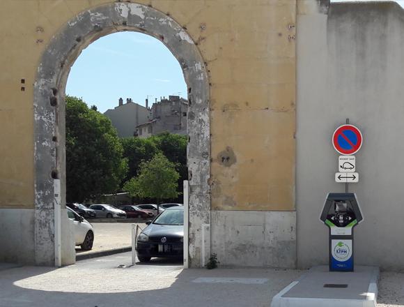 Borne à Toulon - Saint-Roch - MTPM